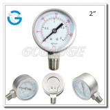 2 All stainless steel bottom entry oil gauges