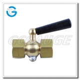 High quality brass pressure gauge cock